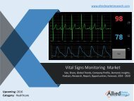 Vital Signs Monitoring market by products