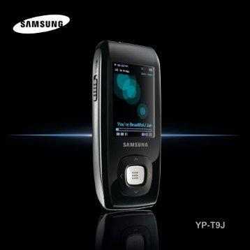 Samsung YP-T9JAB - YP-T9JAB/XAA - User Manual ver. 1.0 (ENGLISH,2.08 MB)