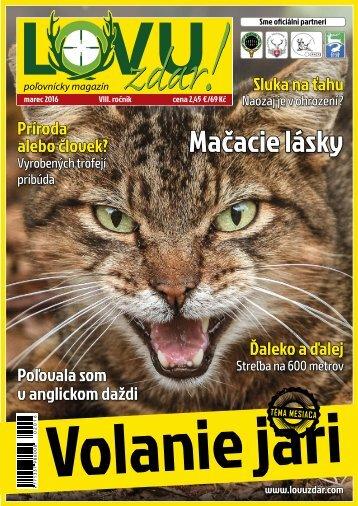 Magazín Lovu Zdar 3/2016