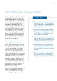 Deutscher Mittelstand in China – Status quo und Perspektiven