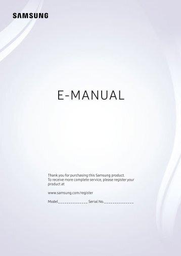 Samsung manuals for tv array e stato riscontrato un errore nel manuale d u0027istruzioni rh yumpu com fandeluxe Images