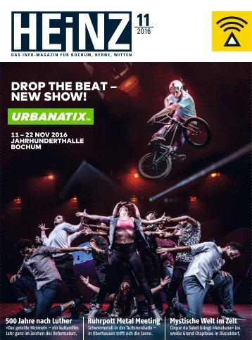HEINZ Magazin Bochum 11-2016