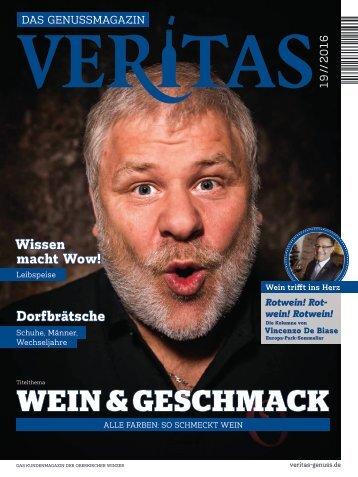 VERITAS - Das Genussmagazin / Ausgabe - 19-2016