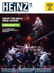 HEINZ Magazin Wuppertal 11-2016