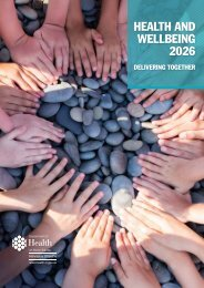 HEALTH AND WELLBEING 2026
