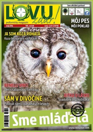Magazín Lovu Zdar 5/2016