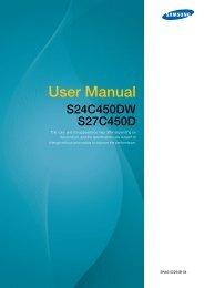 "Samsung S27C450D - 27"" SC450 Series LED Monitor - LS27C45KDSV/ZA - User Manual ver. 1.0 (ENGLISH,4.7 MB)"