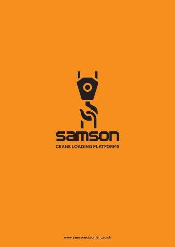 SAMSON PRINT READY SALES BROCHURE