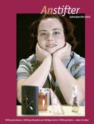 Jahresbericht 2012 der Stiftung Liebenau