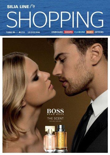 Turku-Stockholm November 1-December 31,2016 Silja Line Shopping catalogue - light