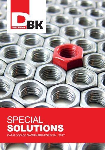 Catálogo DBK Special Solutions 2017