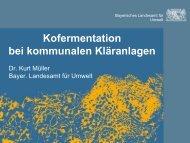 Kofermentation bei kommunalen Kläranlagen - DWA ...