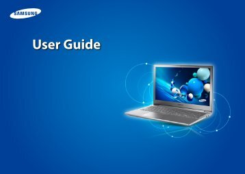 Samsung NP870Z5GE - NP870Z5G-S01US - User Manual (Windows 7) (ENGLISH)