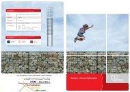Gabionen – ideal zum Selbstaufbau - KSM-Zaunbau