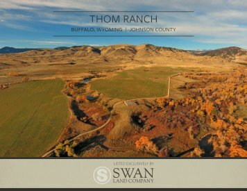 Thom Ranch Offering Brochure 4-6-17
