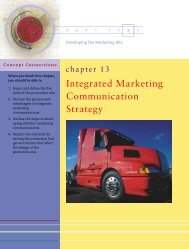 3117T Kotler Chapter 13 - Pearson Canada