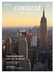 Jobs im Ausland (PDF - KV Schweiz