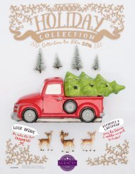 Scentsy 2016 Holiday Collection