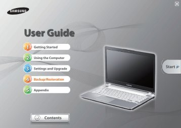 "Samsung Series 5 14"" Notebook - NP500P4C-S01US - User Manual (Windows 7) ver. 1.1 (ENGLISH,9.74 MB)"