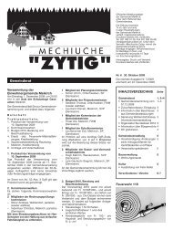Tarifdokumentation 2010 - Meikirch