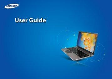 "Samsung Series 5 15.6"" Notebook - NP550P5C-S02US - User Manual (Windows 8) (ENGLISH)"