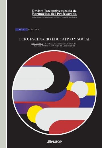 OCIO ESCENARIO EDUCATIVO Y SOCIAL