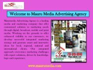 Graphic design services Houston|Mauru Media Advertising Agency