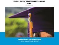 GDL Employee Resource Group - Women in Action Yearbook 2016