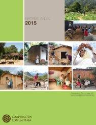 INFORME ANUAL Cooperación Comunitaria 2015