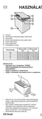 KitchenAid HF 1204 AP - Freezer - HF 1204 AP - Freezer HU (850734601040) Istruzioni per l'Uso