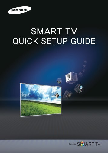 "Samsung 60"" Class (59.9"" Diag.) Plasma 8000 Series Smart TV - PN60E8000GFXZA - Smart Integration Guide ver. 1.0 (ENGLISH,3.73 MB)"