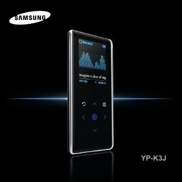 Samsung YP-K3JQG - YP-K3JQG/XAA - User Manual ver. 1.0 (ENGLISH,0.96 MB)
