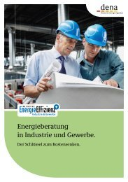 Energieberatung in Industrie und Gewerbe. - Initiative EnergieEffizienz
