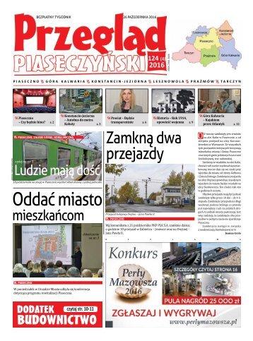 Przegląd Piaseczyński, Wydanie 124