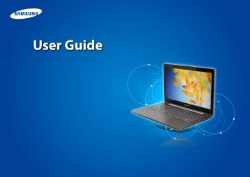 "Samsung Series 7 13.3"" Notebook - NP740U3E-A01UB - User Manual (Windows 8) (ENGLISH)"