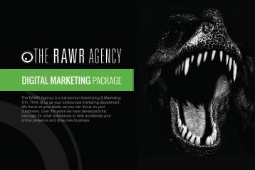 Rawr Digital Marketing Book Digital Spreads