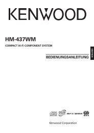 Kenwood HM-437WM - Home Electronics German (2005/5/10)