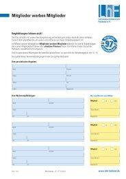 Mitglieder werben Mitglieder - Lohnsteuerhilfeverein Fuldatal eV