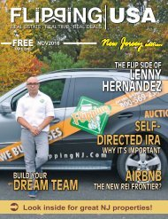 Flipping USA NOV 2016 New Jersey Edition