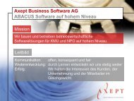 Axept Business Software AG