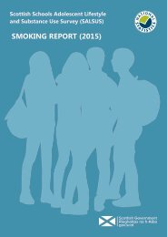 SMOKING REPORT (2015)