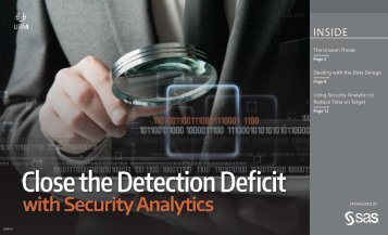 Close the Detection Deficit
