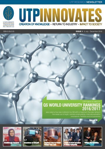 UTP INNOVATES Issue 1