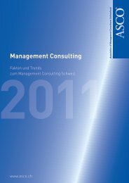 Management Consulting - ASCO