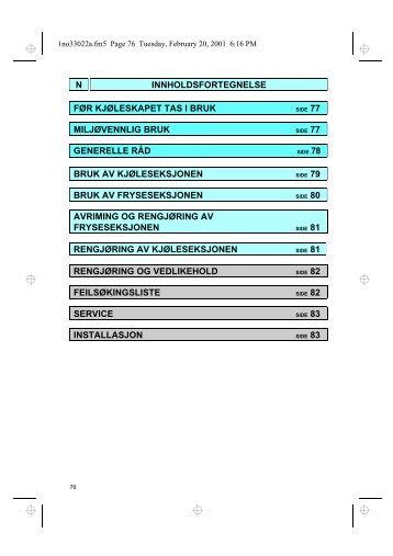 KitchenAid DPA 200/G/1 - Fridge/freezer combination - DPA 200/G/1 - Fridge/freezer combination NO (853938538010) Istruzioni per l'Uso