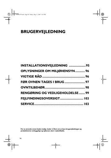 KitchenAid OV B32 W - Oven - OV B32 W - Oven DA (857922529000) Istruzioni per l'Uso