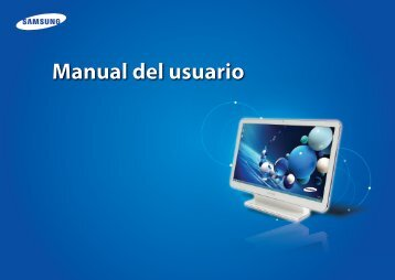 """Samsung ATIV One 5 Style (21.5"""" Full HD Touch / AMD Quad-Core) - DP515A2G-K02US - User Manual (Windows 8) ver. 1.0 (SPANISH,22.27 MB)"""
