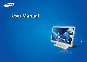 """Samsung ATIV One 5 Style (21.5"""" Full HD Touch / AMD Quad-Core) - DP515A2G-K02US - User Manual (Windows 8) (ENGLISH)"""