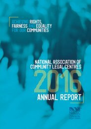 NACLC Annual Report 2015/16