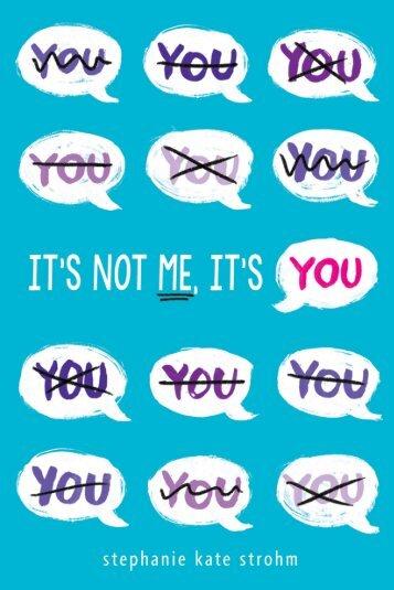 It's Not Me It's